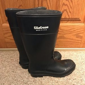 LaCrosse rubber boots made in USA size 9
